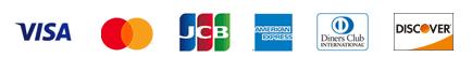 メラクジュエリーショップで利用できるクレジット会社の画像