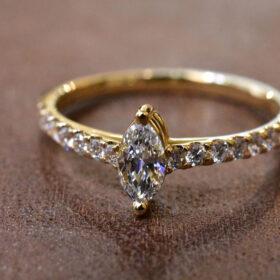 Marquise Cut Diamond Ring sub2